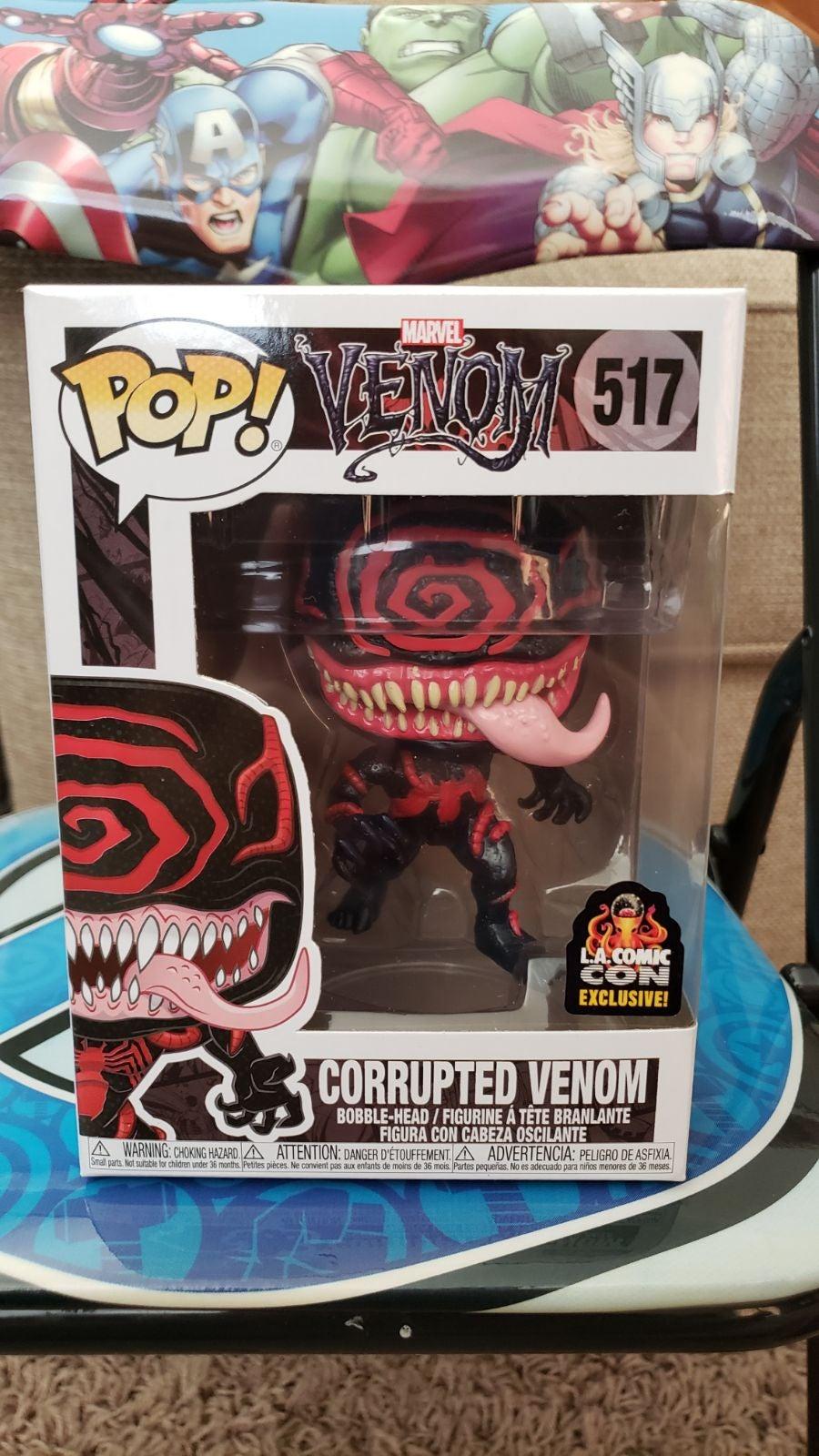Funko pop Corrupted Venom