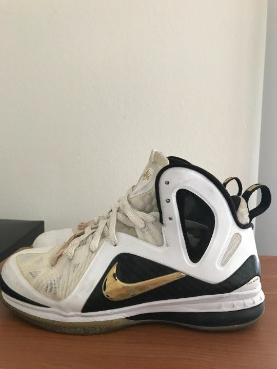 Nike LeBron 9 PS Elite Home Sneakers