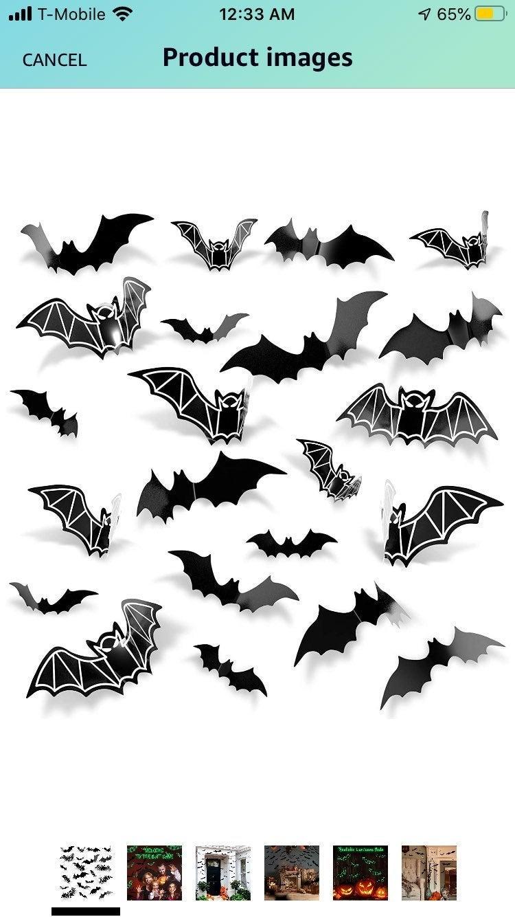 Bat Halloween Decorations
