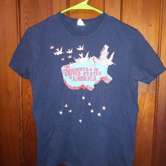 PRESIDENTS OF THE USA T-SHIRT - 90s Rock