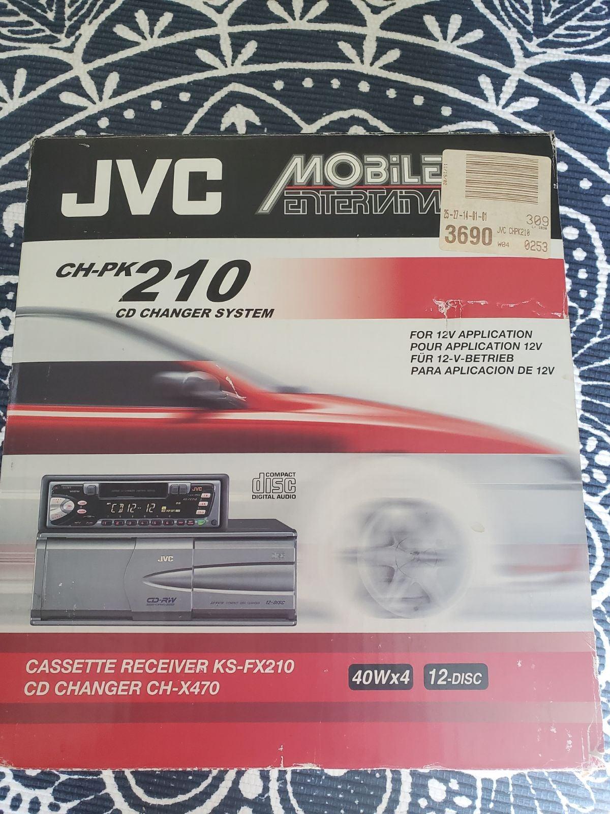 MINT JVC CD Changer System