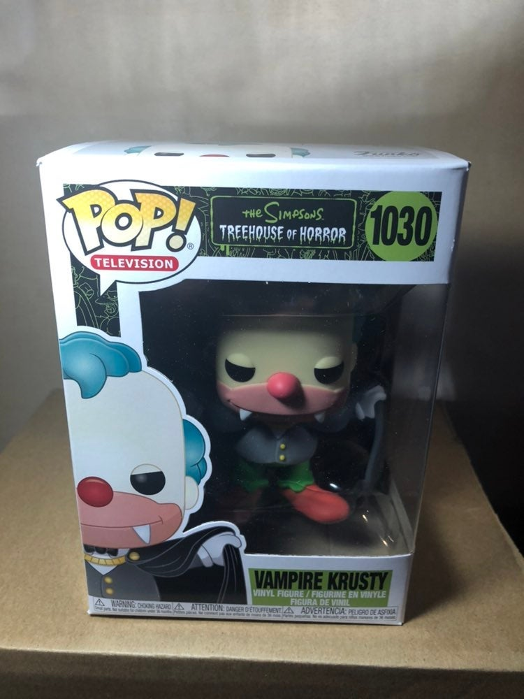 Funko Pop Simpsons Vampire Krusty 1030