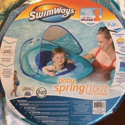 SwimBaby Float Floatie Pool Canopy