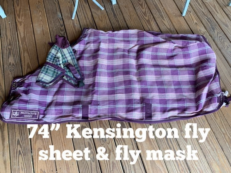 Horse Fly Sheet And Mask