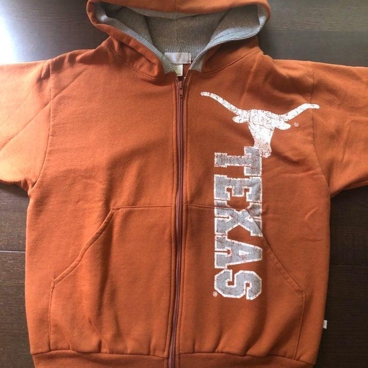 Texas Longhorns Hoodie Youth Large
