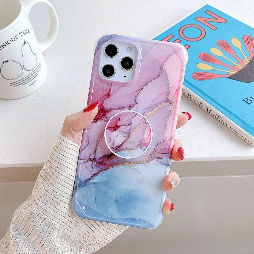 iPhone 12 pro, 12 Case Marble & Holder