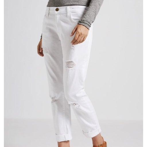 Current Elliott White Jeans Size 24