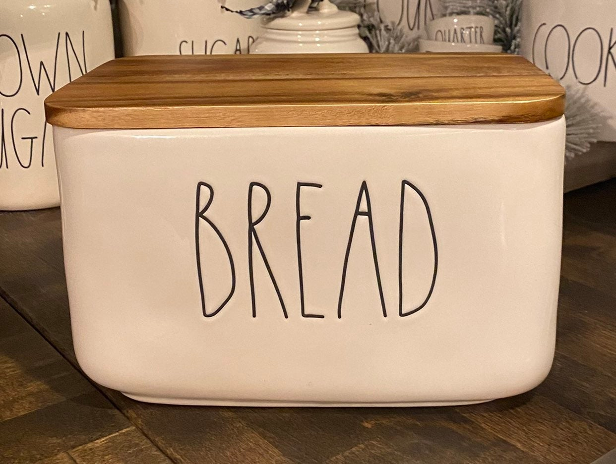 Raw Dunn Bread Box