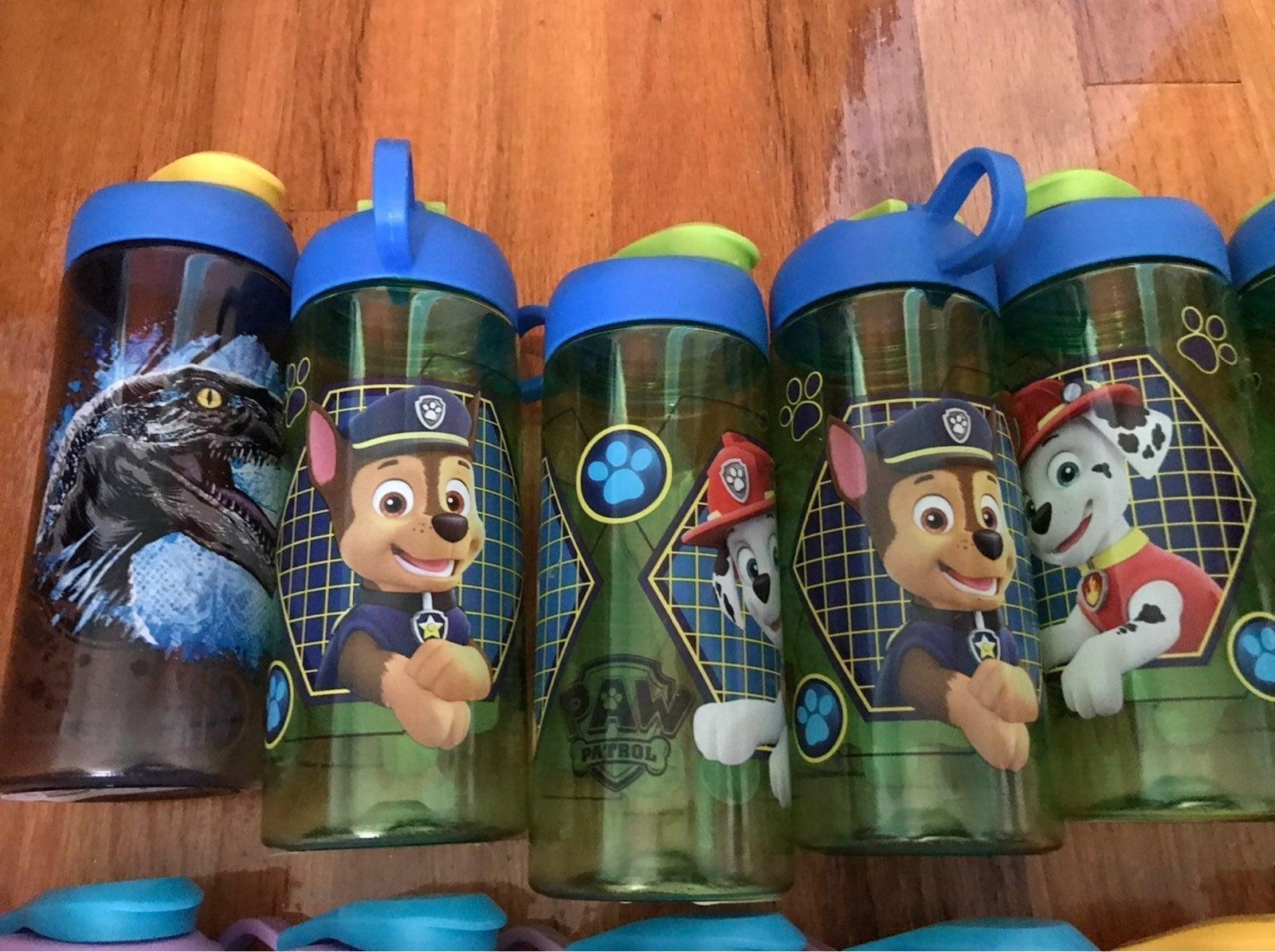 Kids Water bottle lot