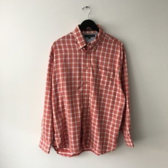 Tommy Hilfiger Checkered Button Up Shirt