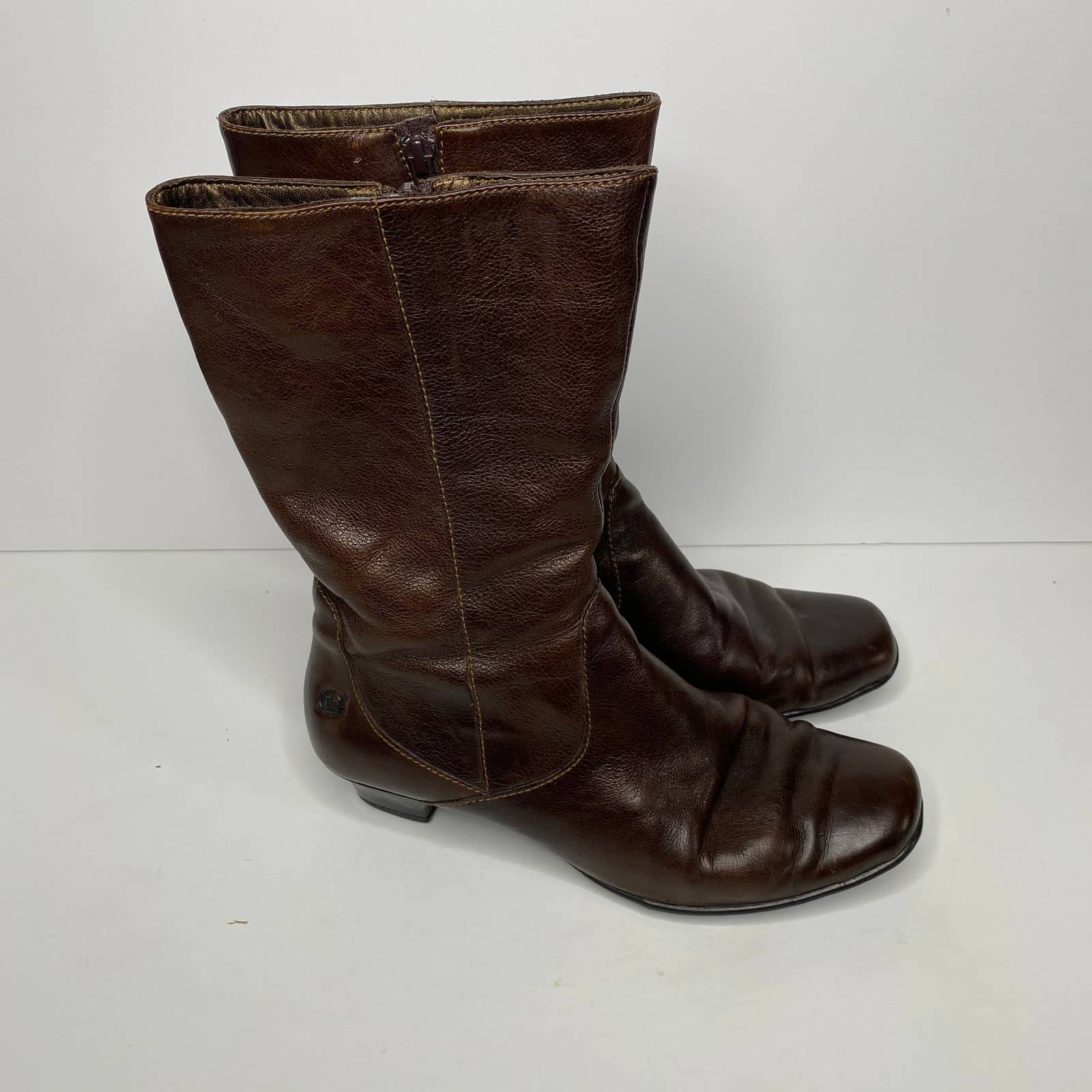 Born Leather Boots Size 7.5