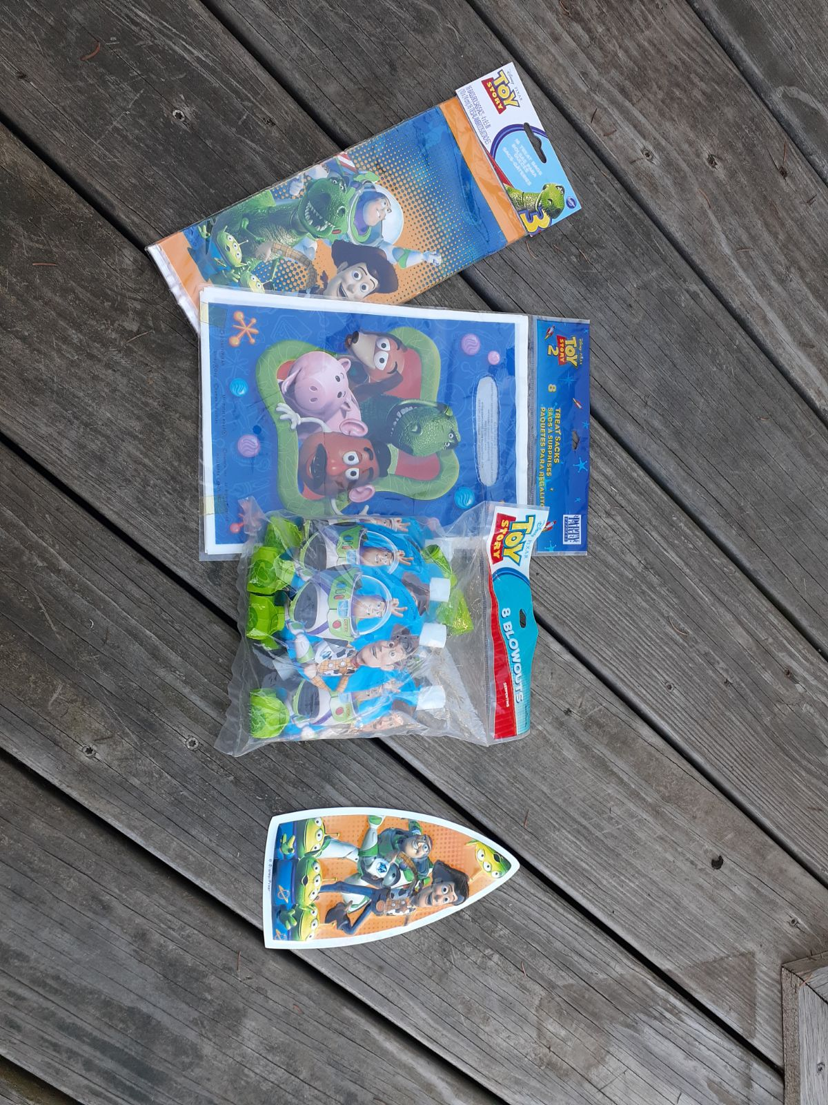 Large toy story birthday lot party