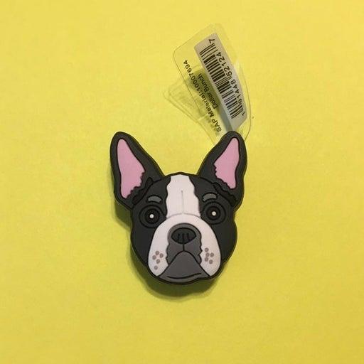 Boston Terrier croc jibbitz dog charm