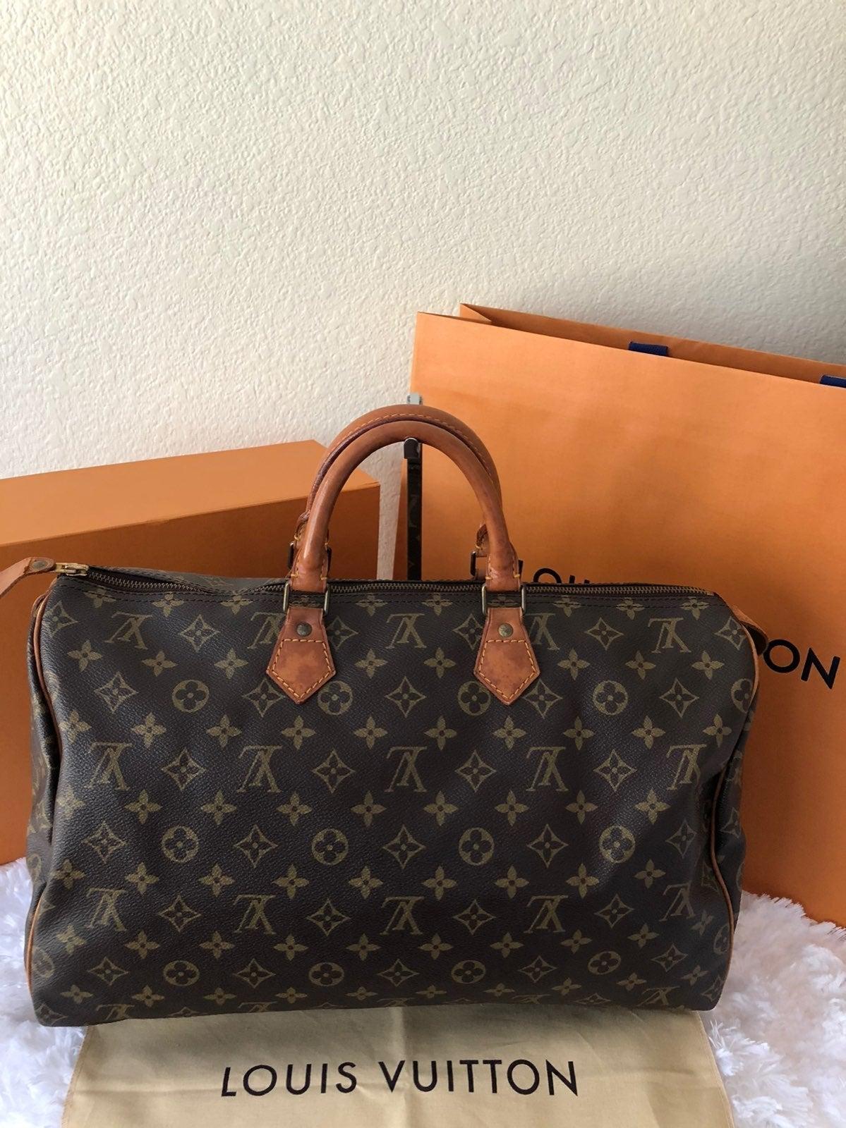 Louis Vuitton Vintage Speedy 40 Mono Bag