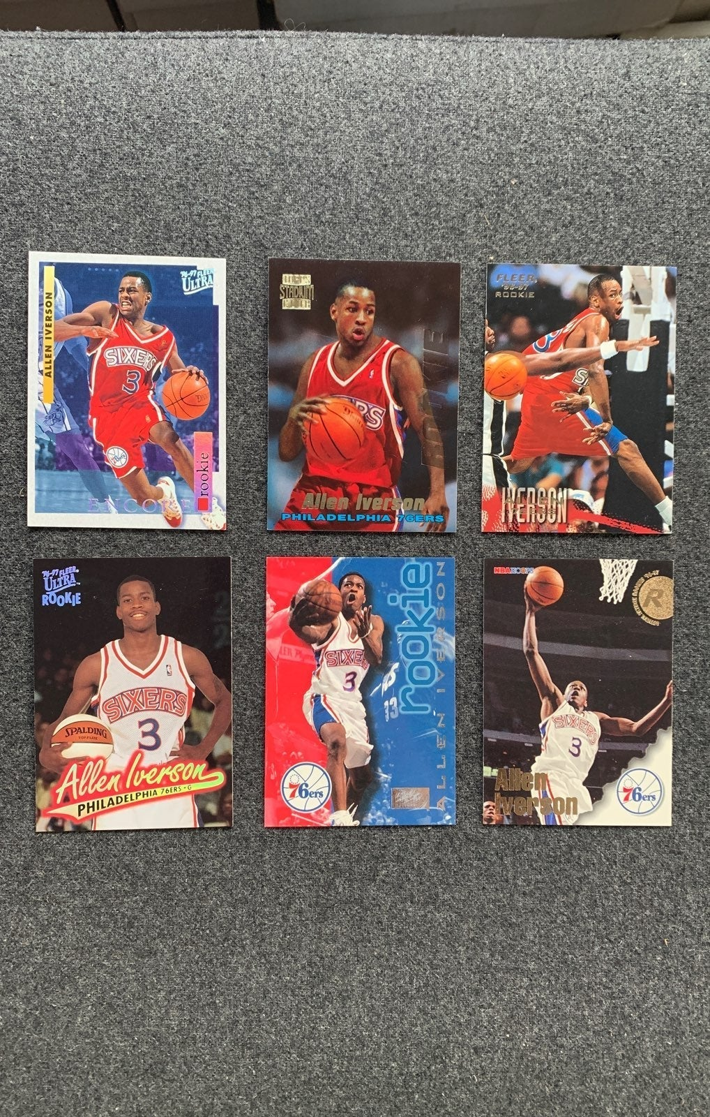 Allen Iverson Rookie Lot