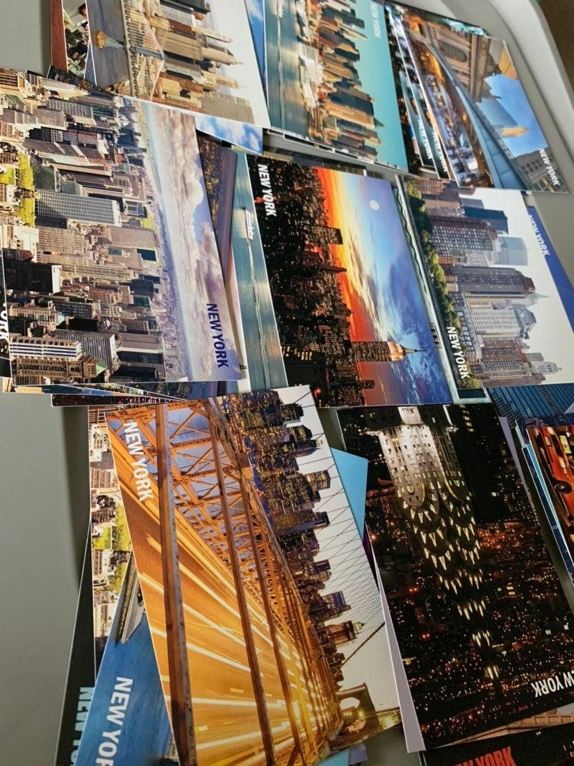 70+ NYC Postcards Bundle