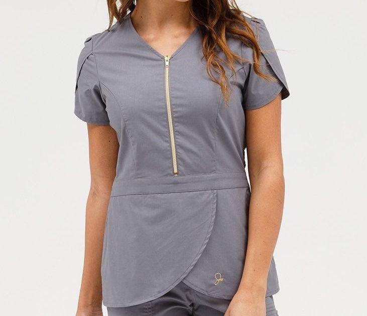 jaanuu scrub top nurse uniform