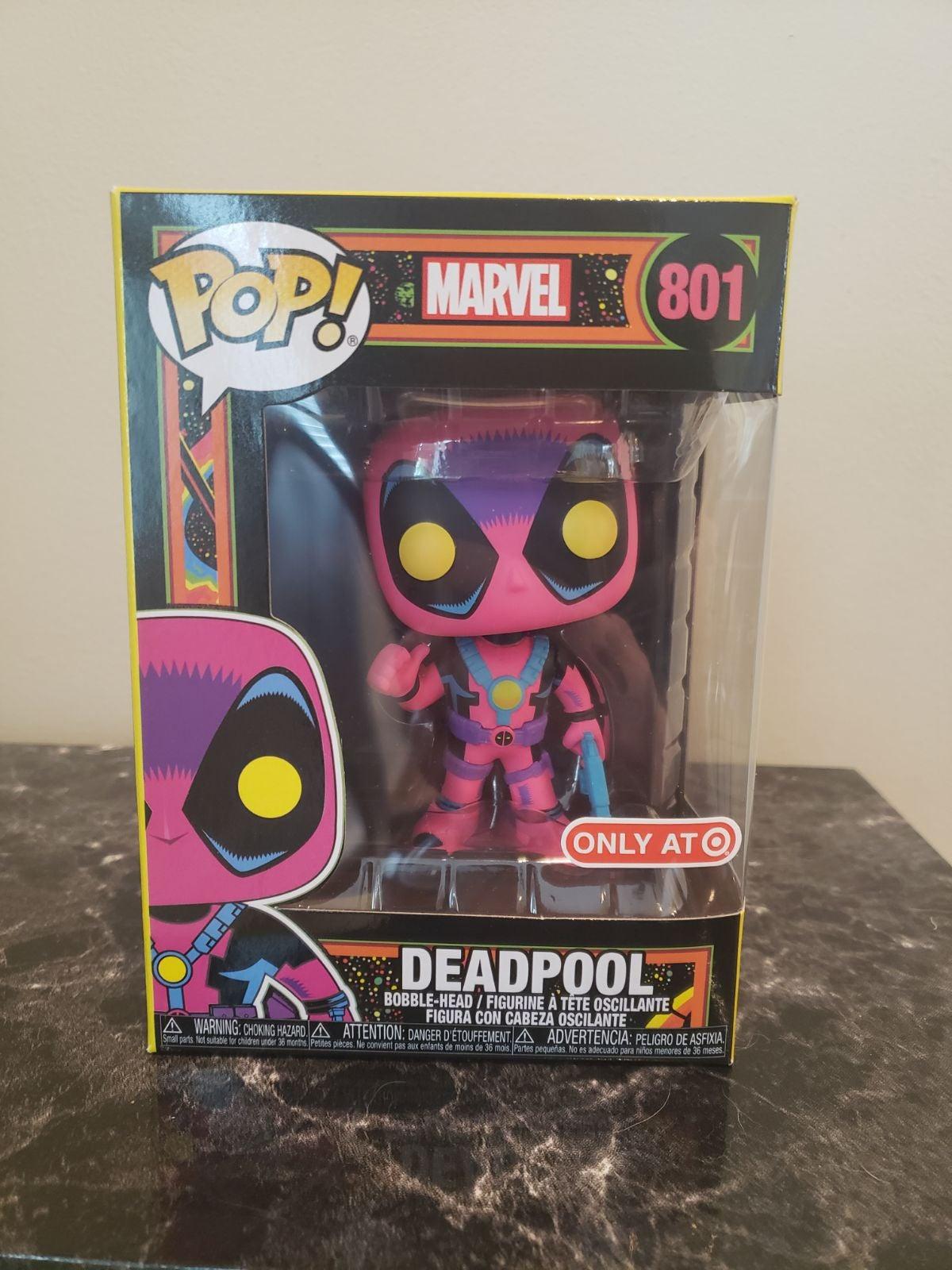 Funko Pop Deadpool Blacklight