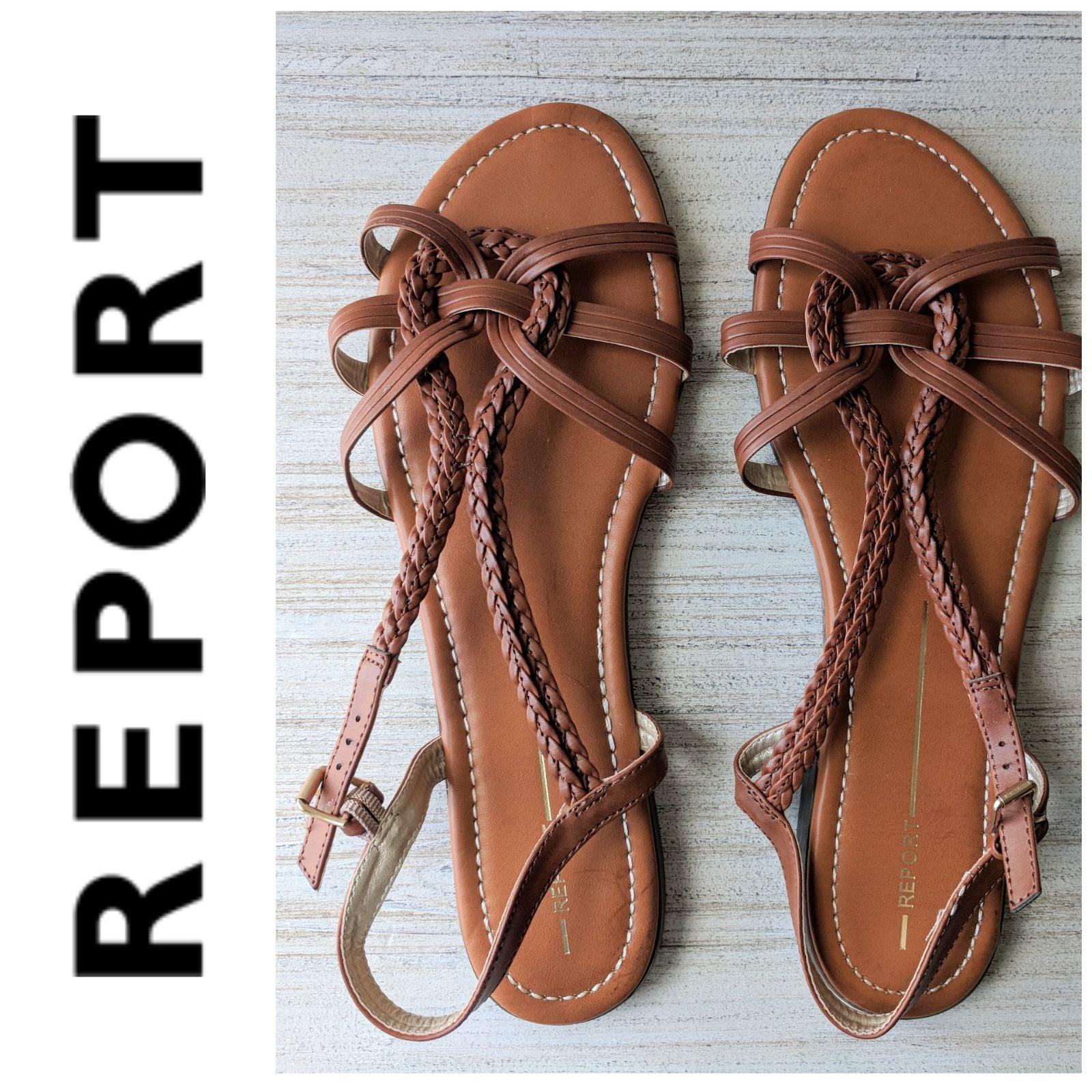 Report Galaxie Tan Sandals 11