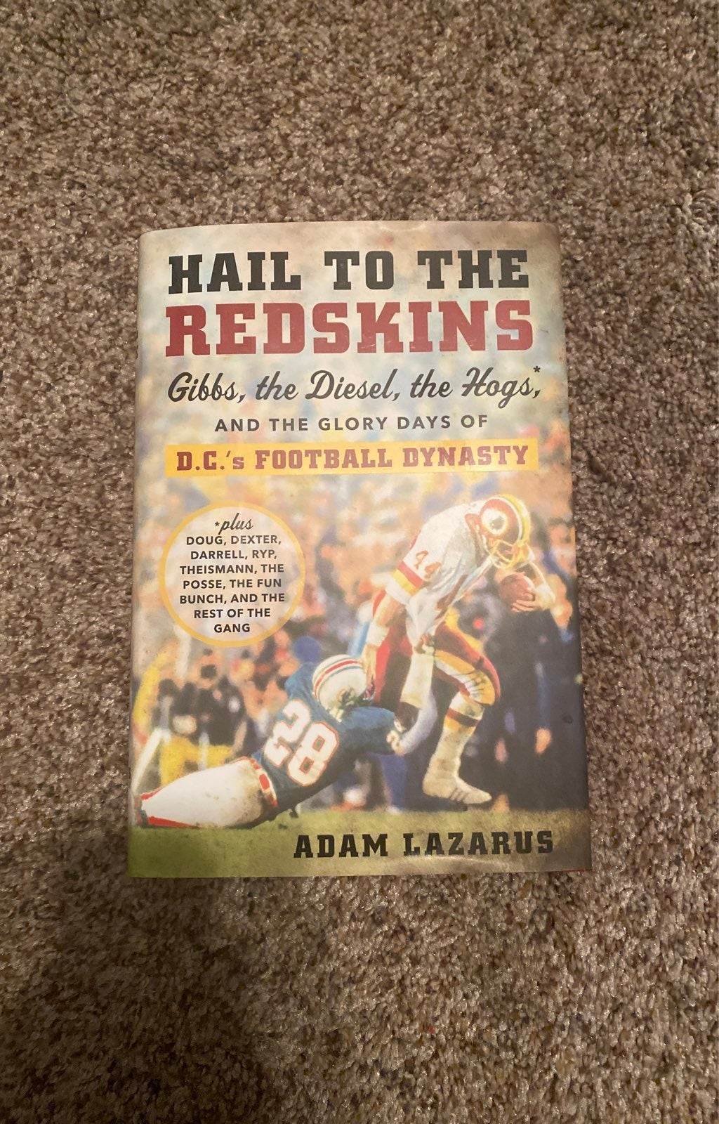 Hail To The Redskins book