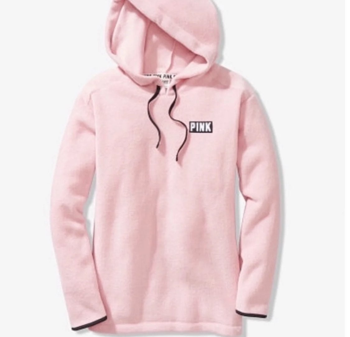 LIMITED TIME PINK POLAR FLEECE PULLOVER