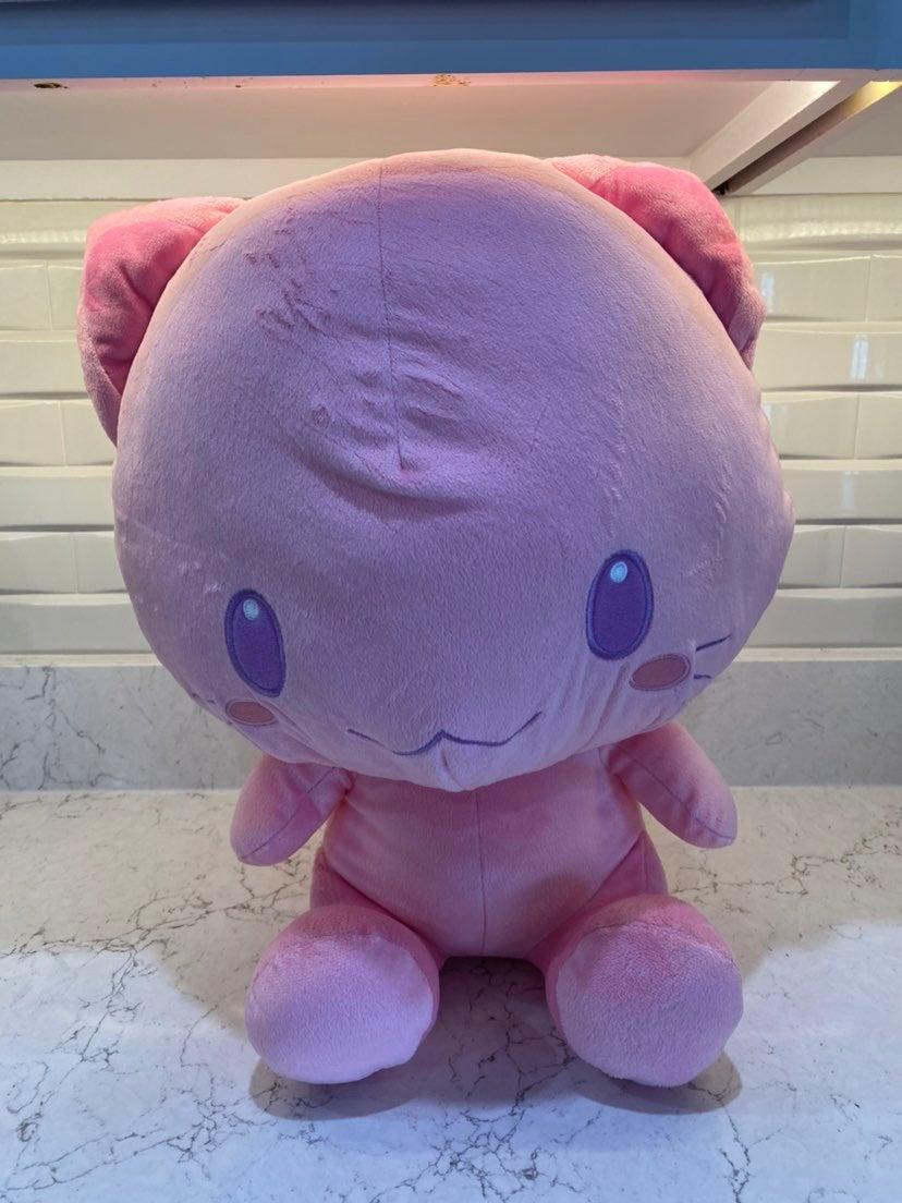 Toreba Toreta Cat Huge Pink Plush
