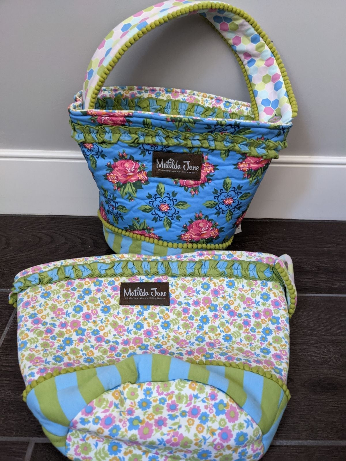 Matilda Jane cloth baskets