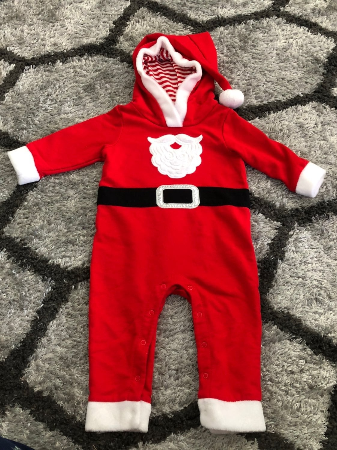 Santa outfit from Target