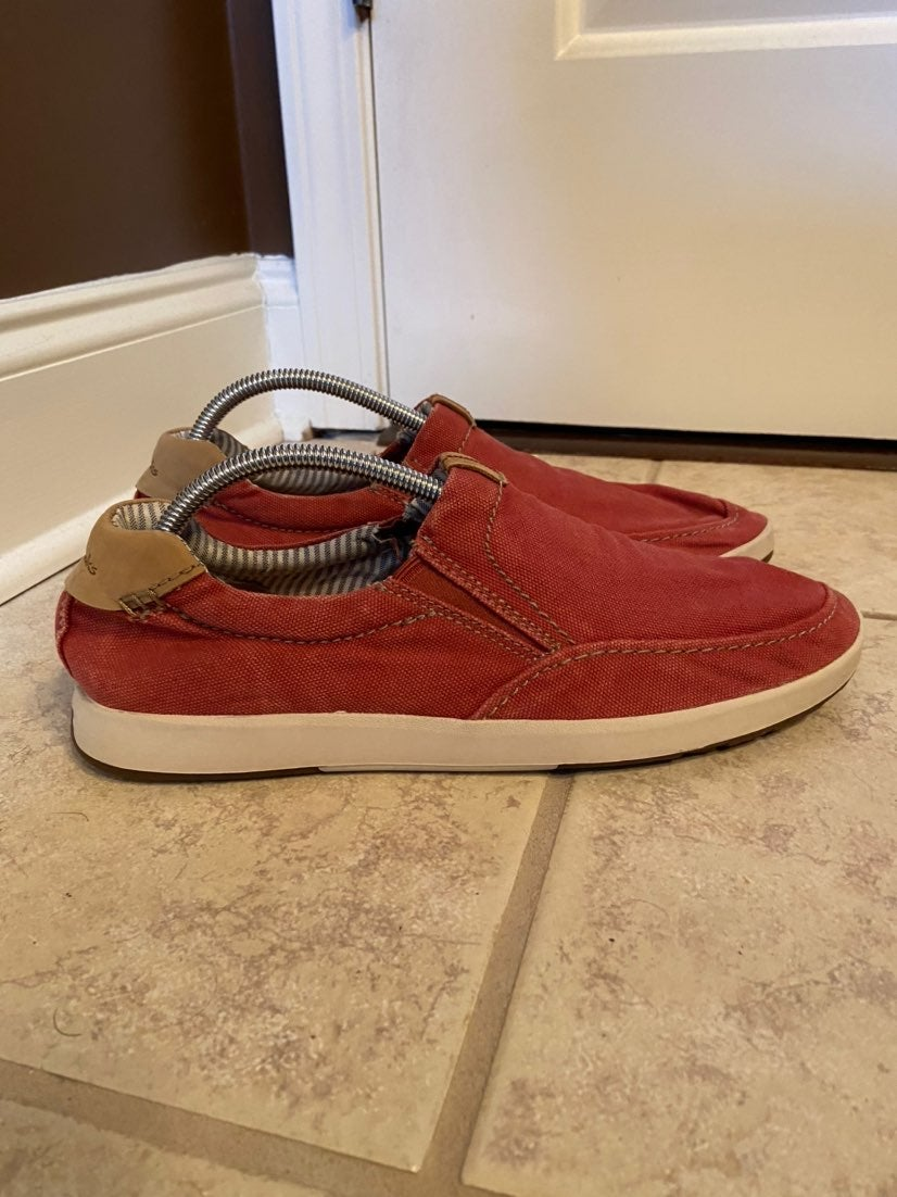 Clarks Men Size 10 Red Shoes