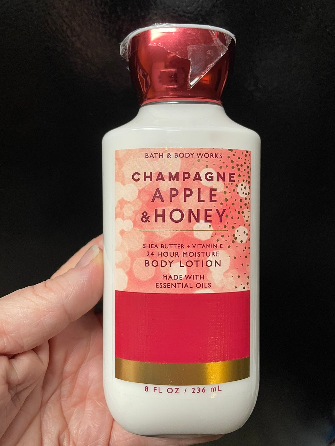 Champagne Apple & Honey lotion