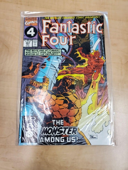 MARVEL COMICS FANTASTIC FOUR #357 OCT
