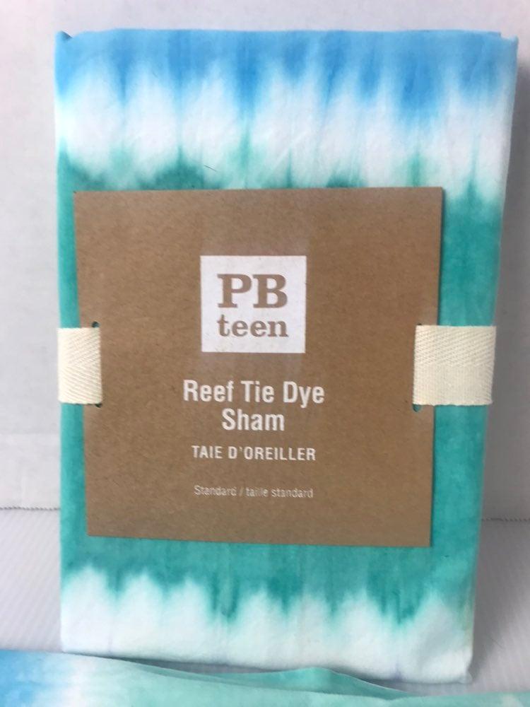 Pottery Barn Tie Dye Set Standard Shams
