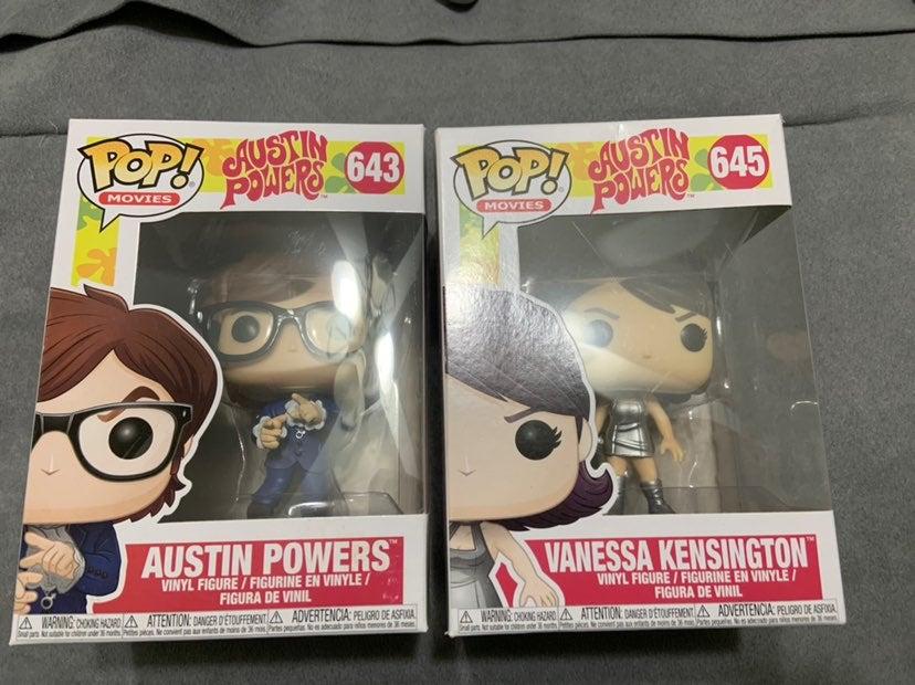Funko Pop Austin Powers Vaulted Vanessa