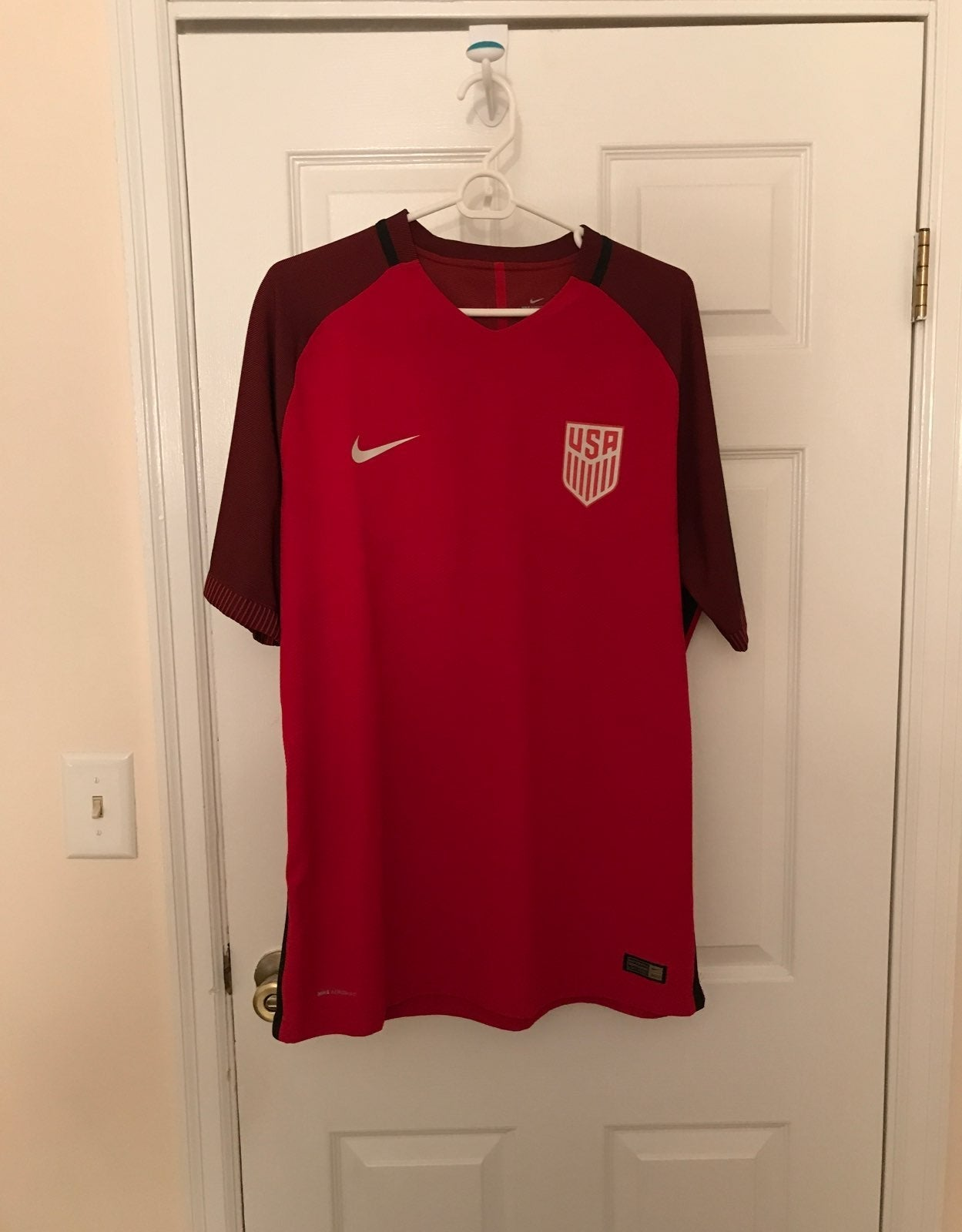 AUTHENTIC USA Men's Soccer Home Jersey