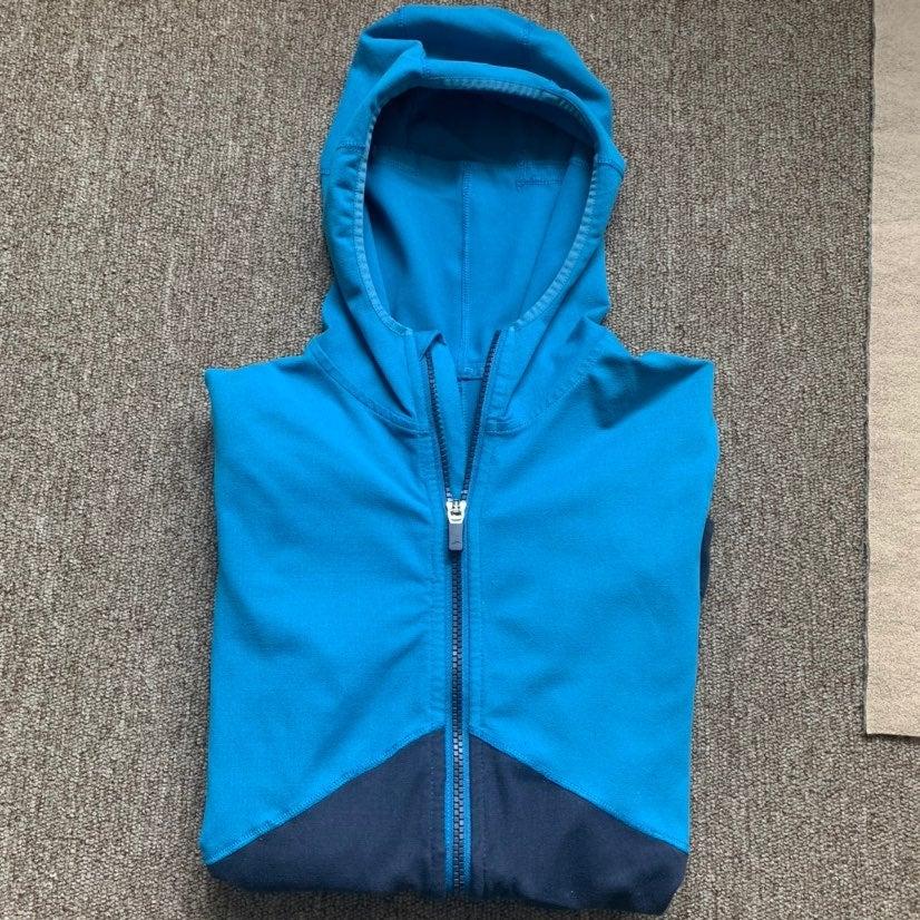 Brooks blue sweatshit hooded for woman