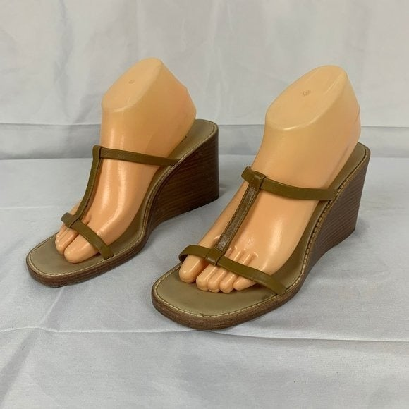 J. Crew Made in Italy Leather 9M Sandals