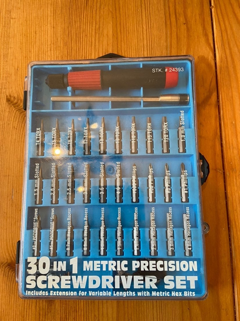 Best Way 30 in 1 Metric Precision Screwd