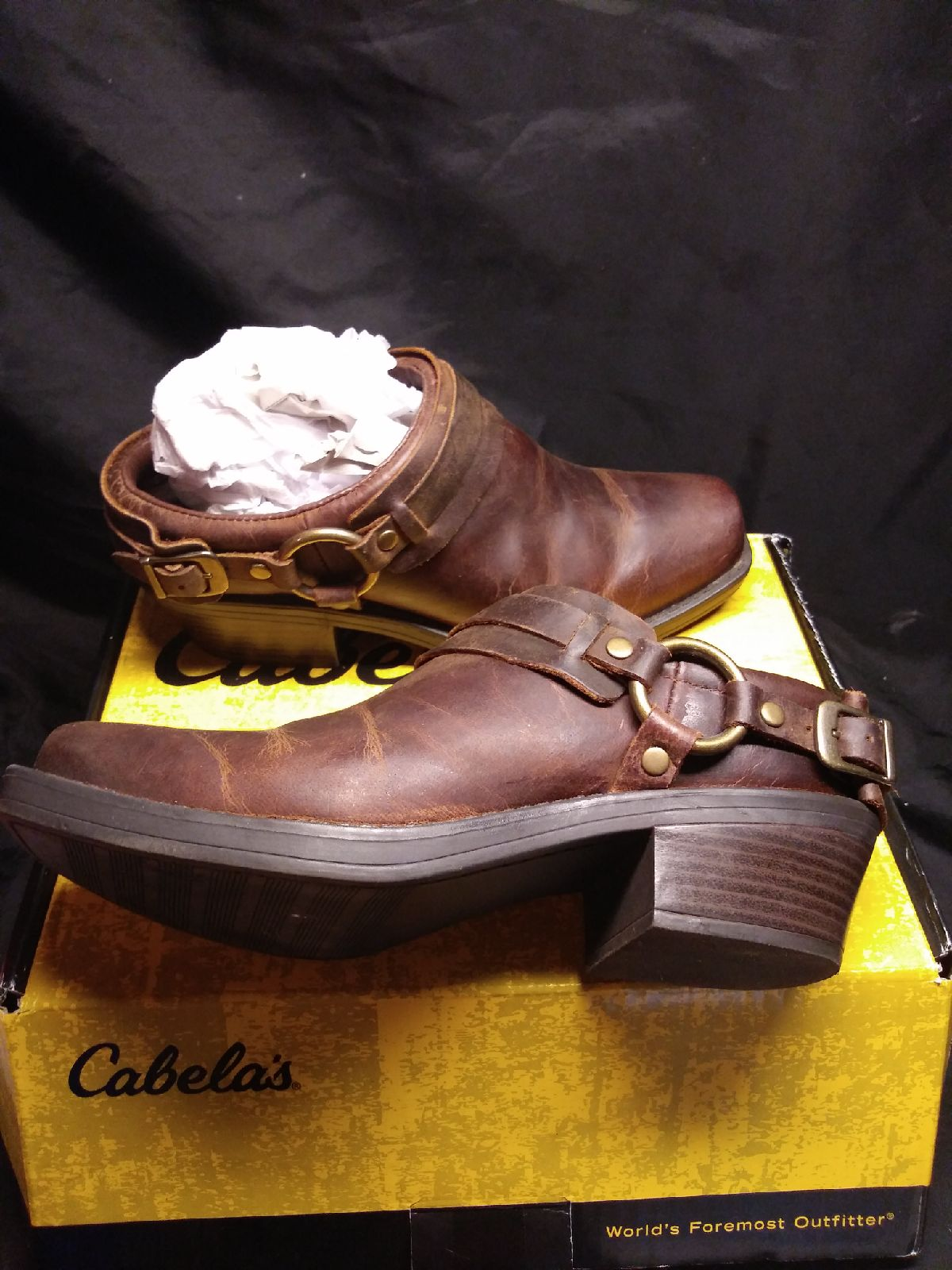 Cabela's size 8m women's harness clog bo