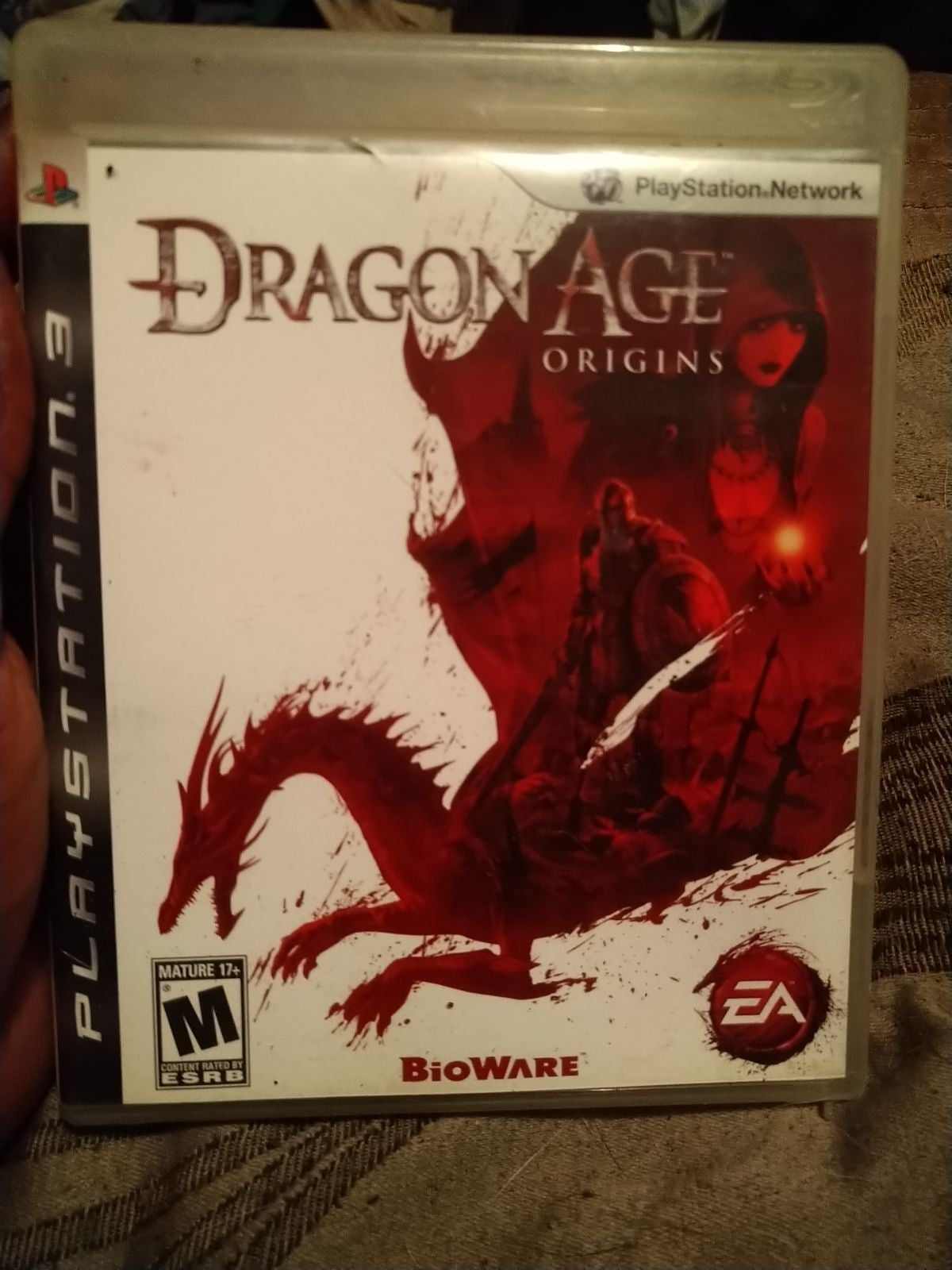 Dragon Age Origins case only
