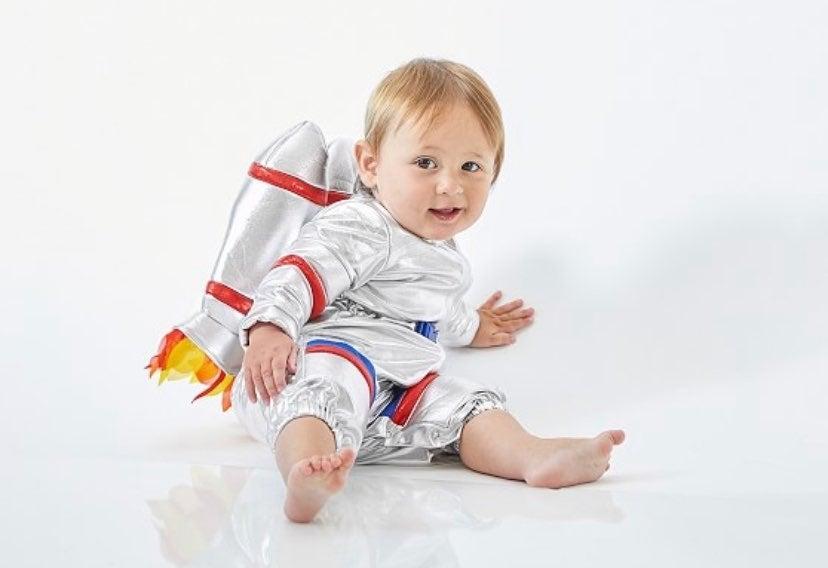 Baby Astronaut Halloween Costume Pottery