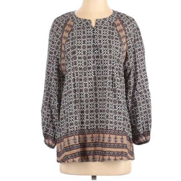 Anthropologie 1.11 Thylo bohemian top sm