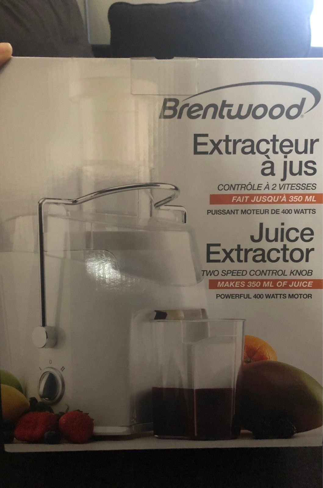 Brentwood Juice Extractor