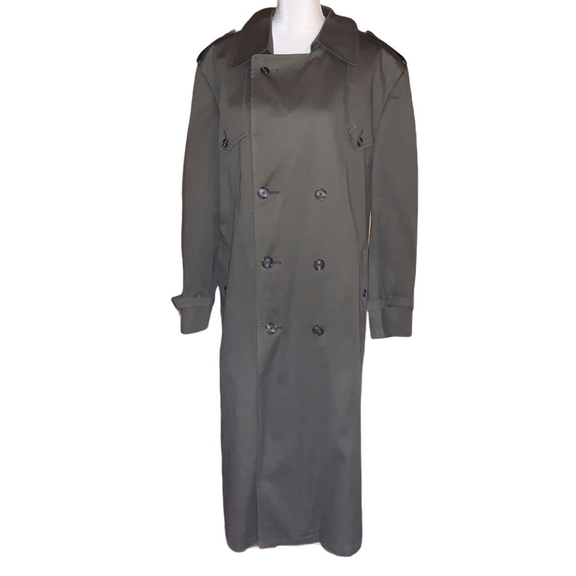Christian Dior Wool Blend Trench Coat