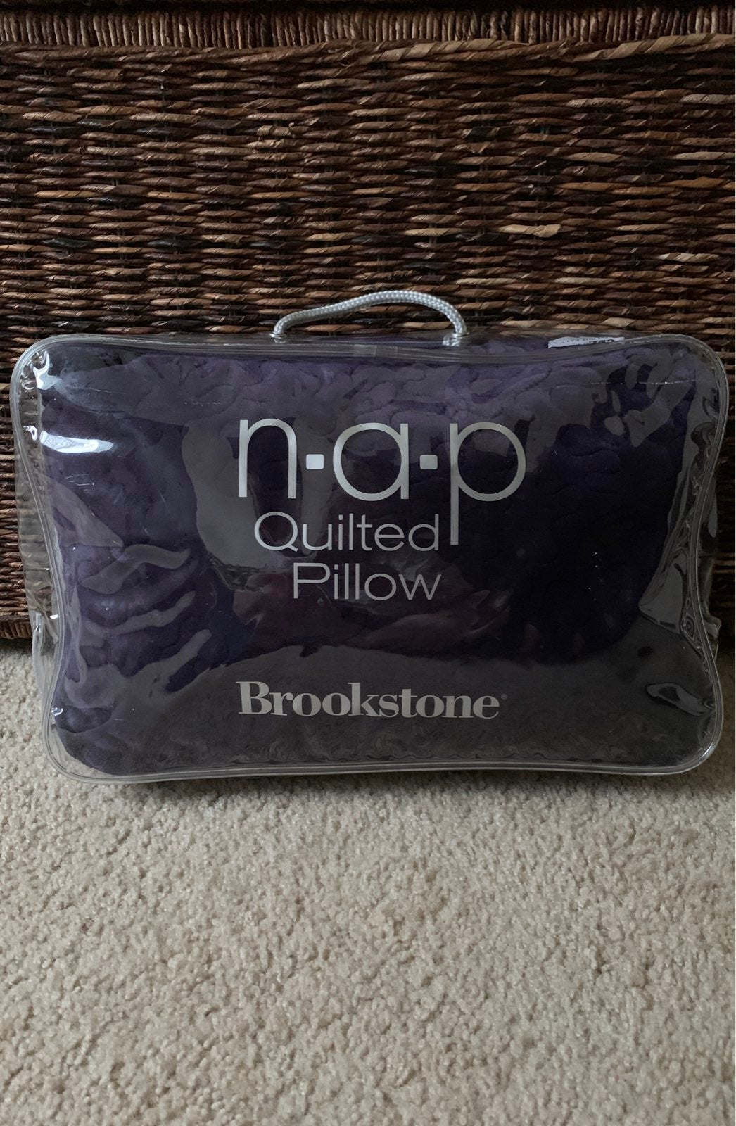 Brookstone N-A-P Quilted Pillow