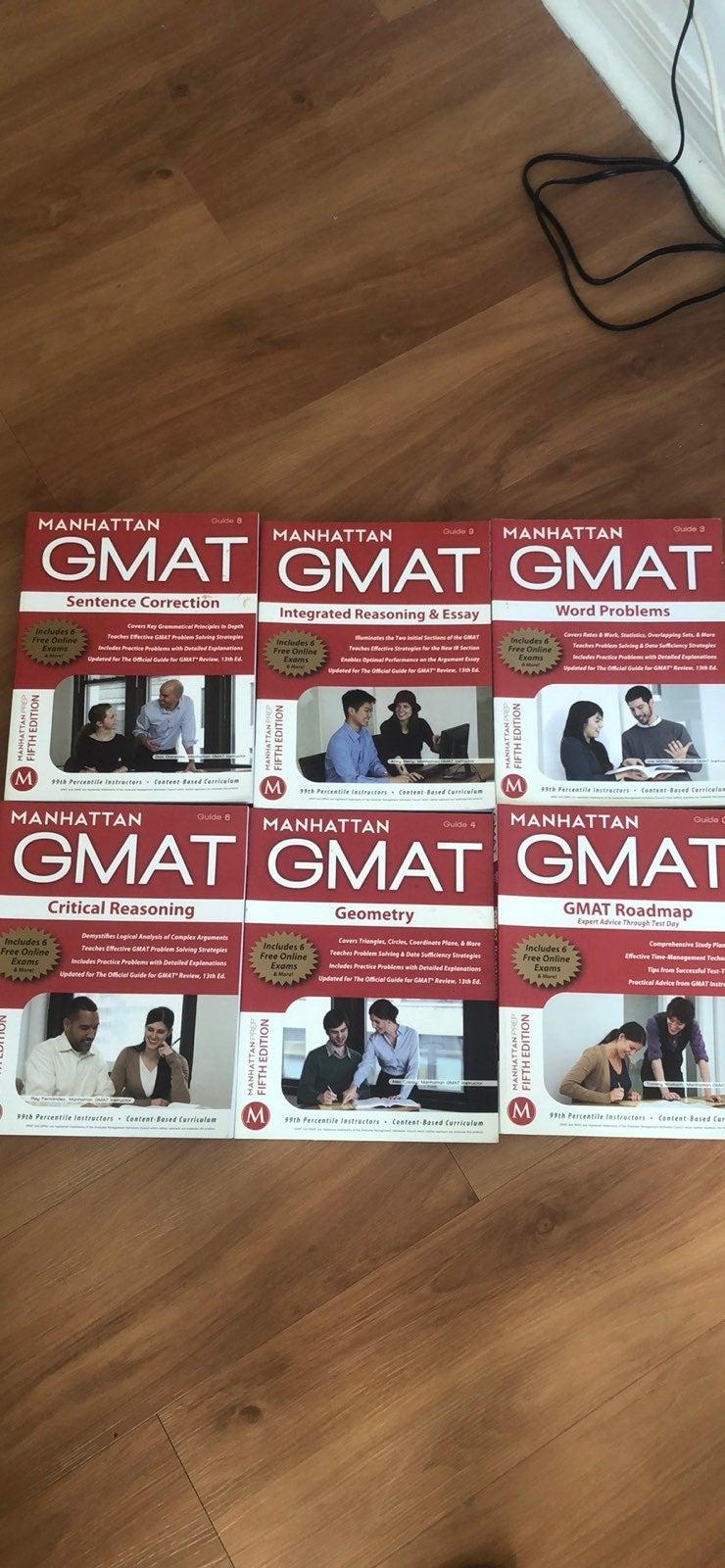GMAT Textbooks (Manhattan)