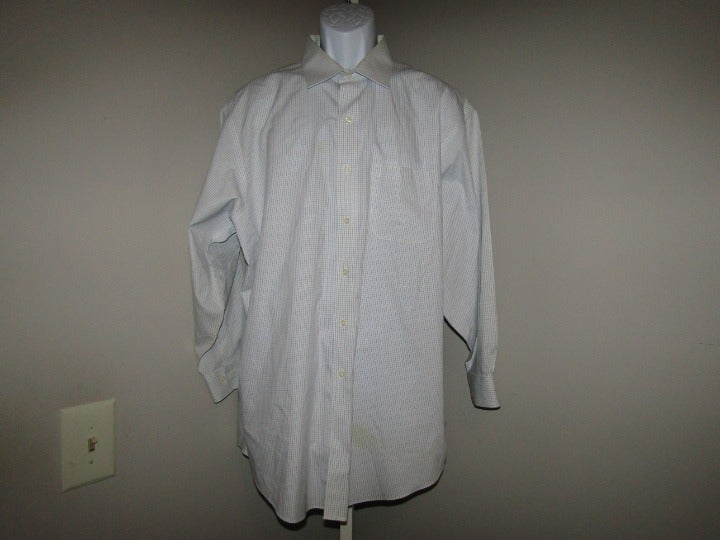Brooks Brothers 346 Dress Shirt 17 1/2