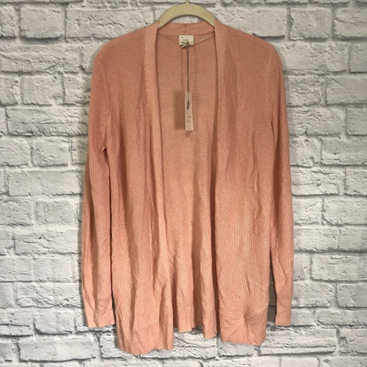 A New Day Pink Cardigan Size Small NEW
