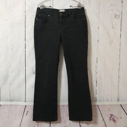 Covington Gray/Black Bootcut Jeans