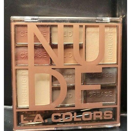 L.A. Color BLOCK EYESHADOW Palette 10 Sh