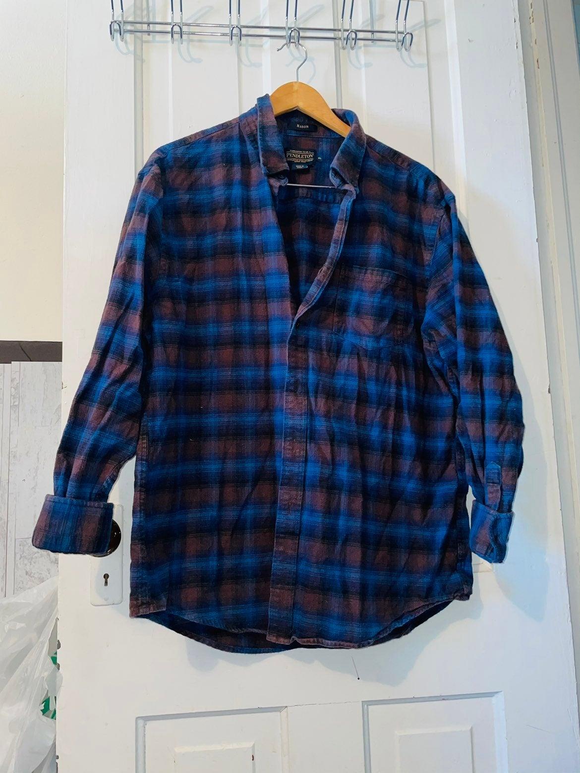 Pendelton MASON Flannel Buttondown